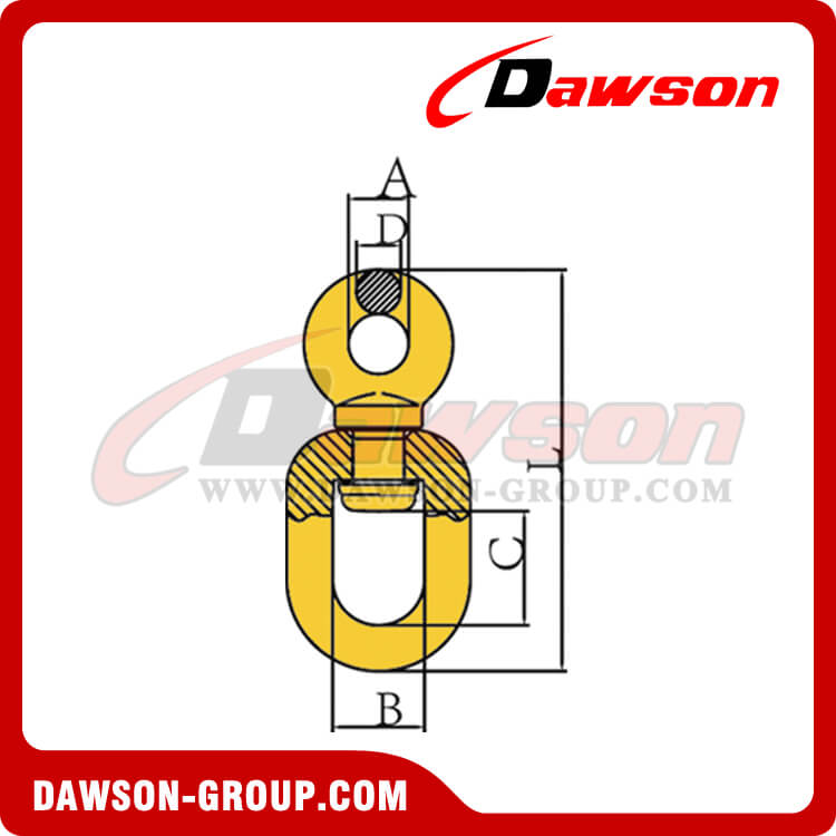 DS246 FORGED SWIVELS DAWSON-GROUP