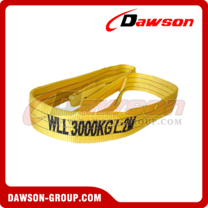 WLL 3 Ton Polyester Webbing Slings - Lifting Slings AS 1353