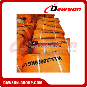 WLL 20 Ton Polyester Webbing Slings - Lifting Slings AS 1353