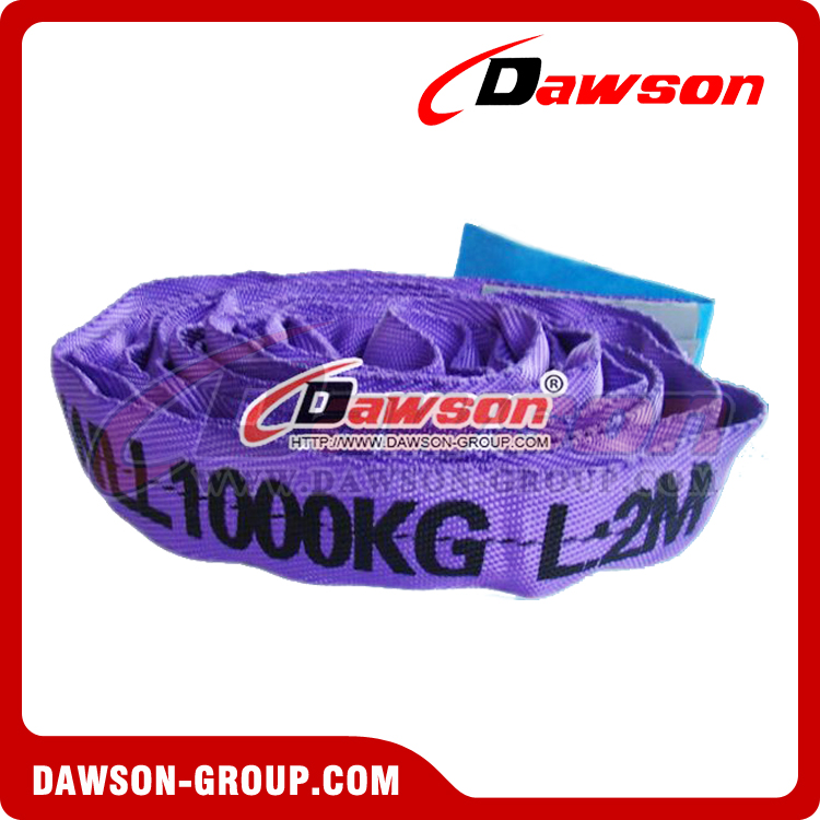 1 ton round slings - Dawson Group Ltd. China Manufacturer Supplier