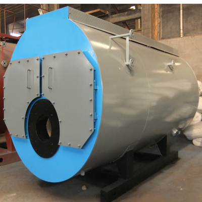 Horizontal Oil Gas Dual Fuel Fired Steam Boiler