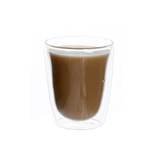 300ml double wall glass coffee cup