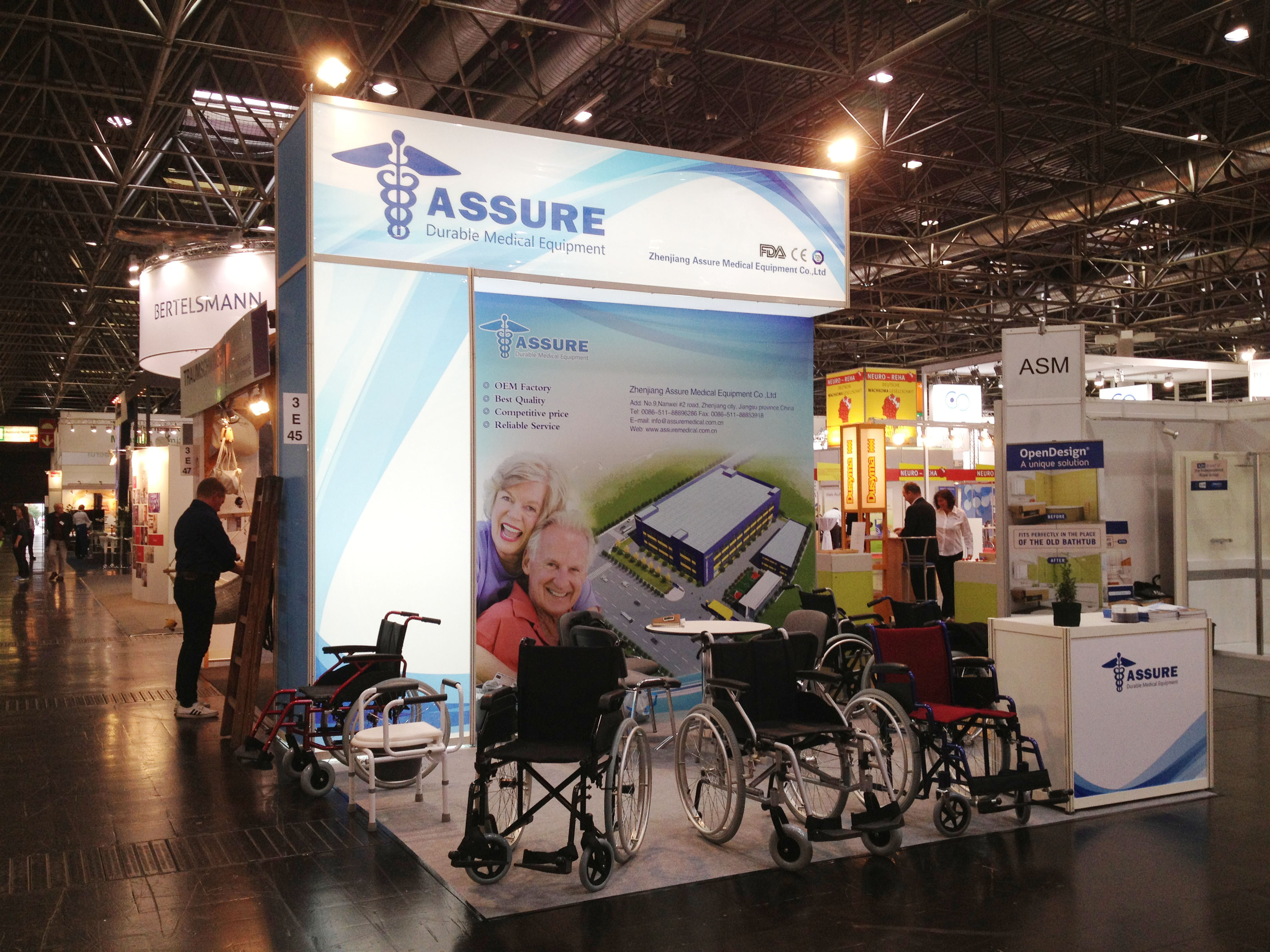 2014 Rehacare 24˜27 Sep