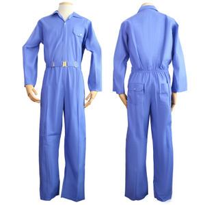 Safety Equipment Cheap Poly-cotton One Piece Protective Men Safety Workwear Coveralls