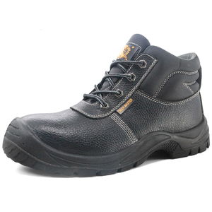 Anti Slip Men Steel Toe Safety Shoes for Construction