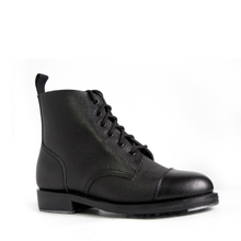 Ankle Boot military boot cow leather for military office men