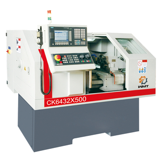 CK6432 CNC Lathe With 4 Positions Toolpost