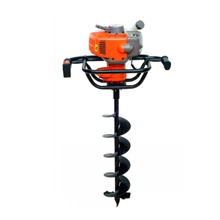 High quality Petrol Single operated earth auger 3WT250400