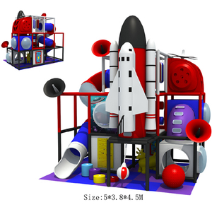 Small indoor playground equipment