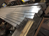 Cold formed bright stainless steel flat bar