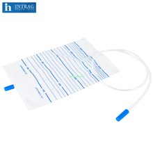 Disposable Urine Bag With Push Pull Valve