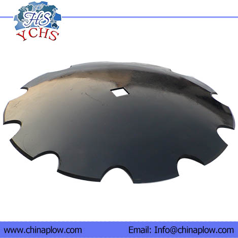 Notched Disc Blades