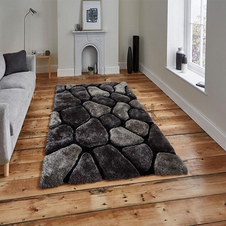 Deep Pile 3D Shag Rugs Home Decor Floor Carpet