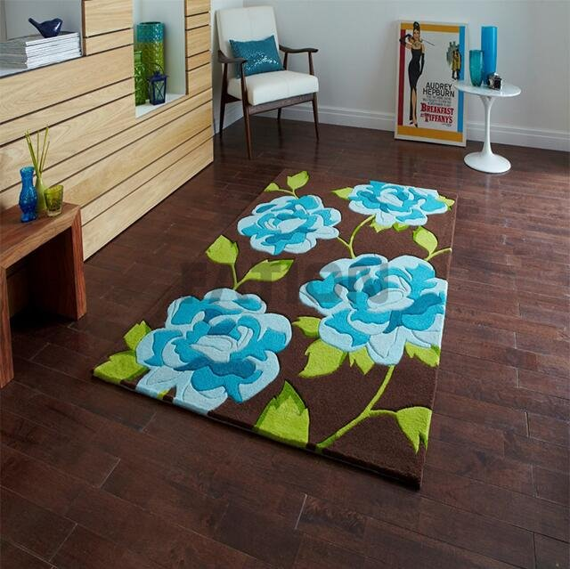 High Quality Indoor Acrylic Rug Commercial Floor Carpet