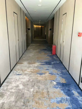 Fation Carpet finish Joys Hotel carpet project