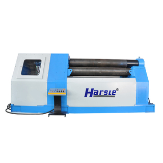 W12 Four-Roller Hydraulic Metal Sheet Rolling Machine