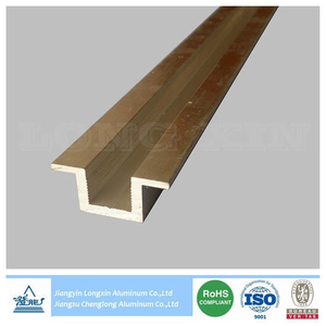 Silver Anodized Aluminium Profile for Solar Mounting