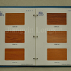 Wood Transfer Print Aluminium Profile for Windows