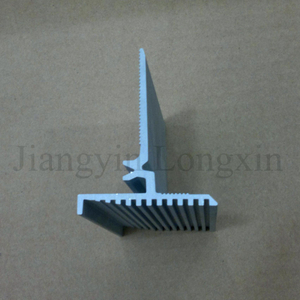 Silver Matt Anodized Aluminium Profile for Industry