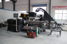 TSE-65 Masterbatch Extruder Machine for Filler And Color Masterbatch Plastic Compound Machine