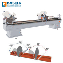 Vinyl Profile Miter Saw Window Cutting UPVC Window Cutting Machine