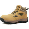 TIGER MASTER oil resistant anti slip steel toe construction site safety men boots