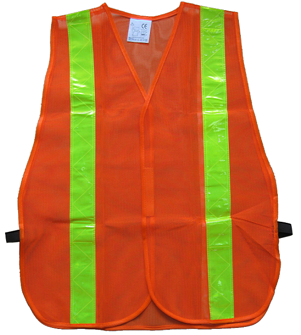 High visibility mesh traffic safety vest in China