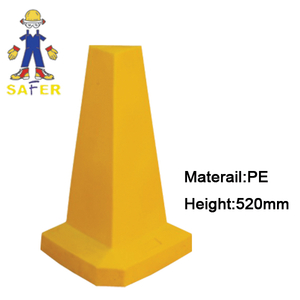 safety cone/road cone/pe traffic cone/pyramid cone