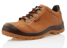 Men safety shoes with steel toe and steel plate
