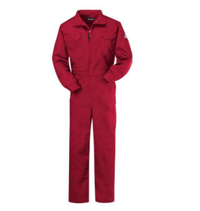 Flame Resistant Deluxe Coverall Red anti fire Overalls