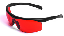 Red PC lens nylon arm protective goggles glasses