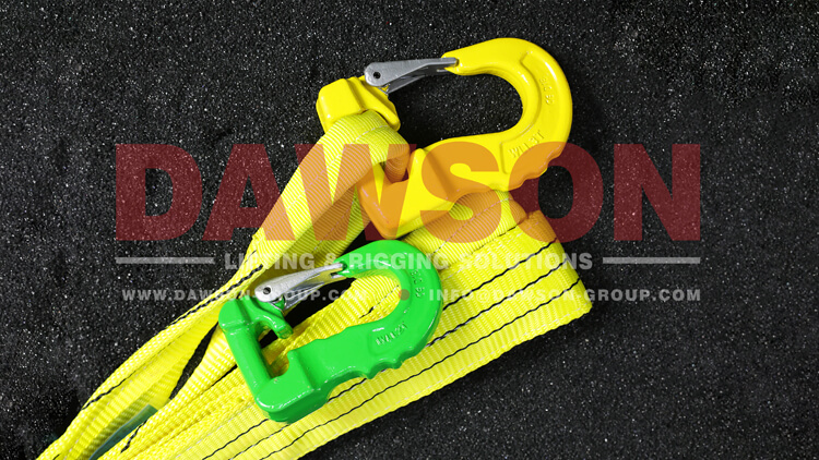 G100 Grade 100 Web Sling Hook, 3000KG Synthetic Alloy Round Sling Hook - Dawson Group Ltd. - China Manufacturer