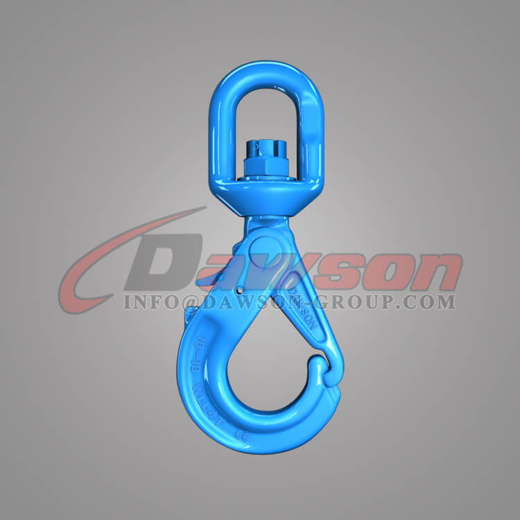 Dawson Grade 100 Special Swivel Self-locking Hook with Grip Latch - China Factory
