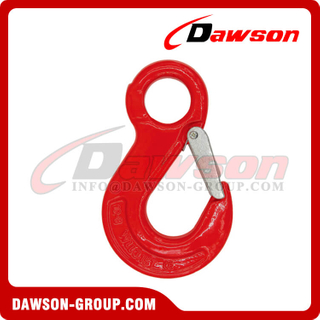 DS302 G80 Eye Sling Hook with Latch for Wire Rope Slings