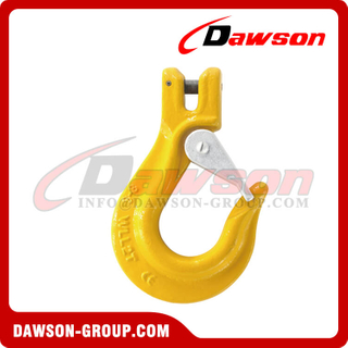 G80 / Grade 80 Clevis Sling Hook with Latch for G80 Lifting Chains