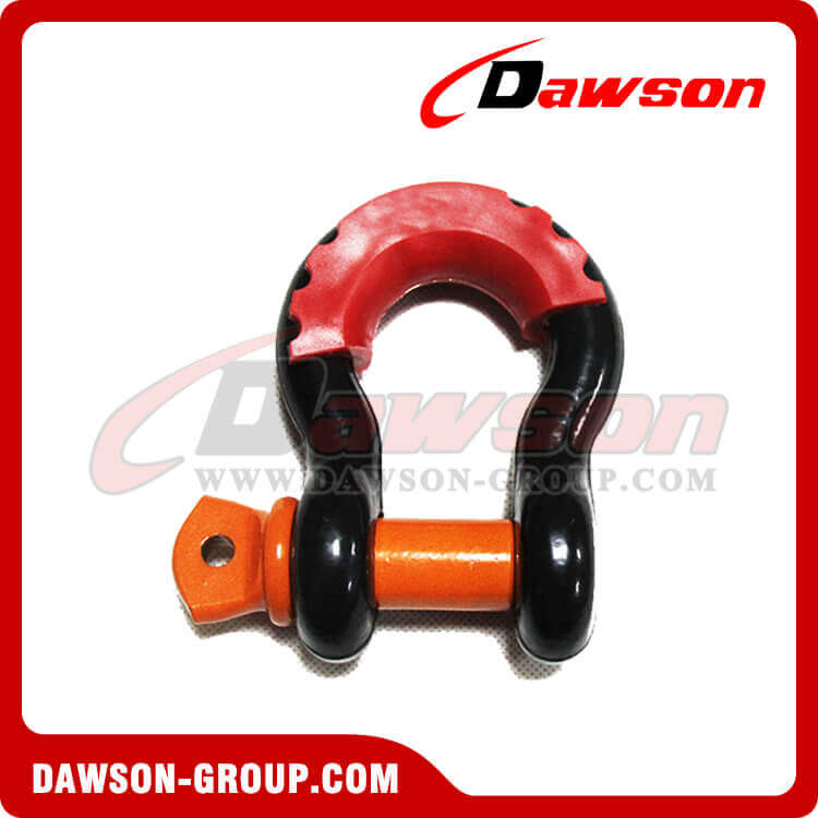 Dawson Drop Forged Steel Bow Shackle with PU Protection - China Supplier, Factory