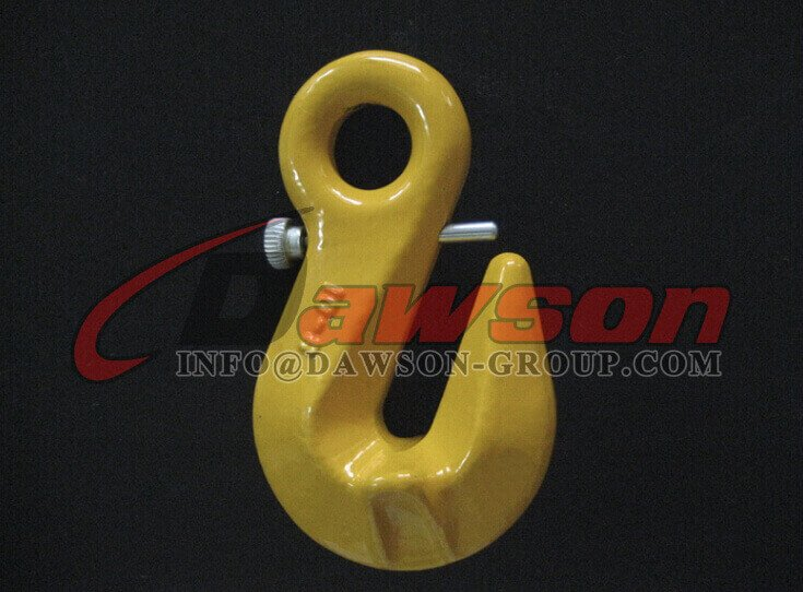 G80 Eye Shortening Grab Hook With Safety Pin - Dawson Group Ltd. - China Supplier, Factory