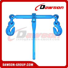 G100 Ratchet Binder With Safety Hooks, Grade 100 Load Binder for Lashing
