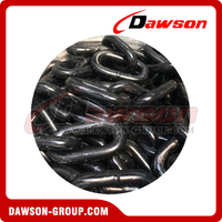 Grade 80 Fishing Long Link Chain / Painted Steel Welded G80 Fishing Chain