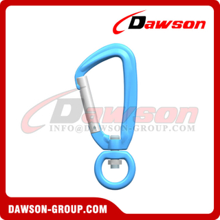 DS7801D1 Aluminum Alloy 7075 Snap Hook, Locking Carabiners