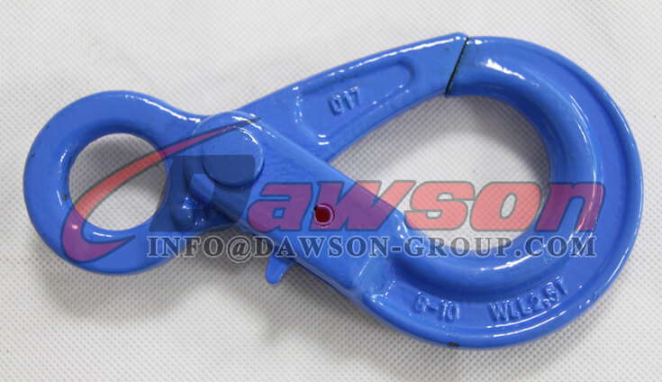 Grade 100 European Type Eye Self-Locking Hook Lifting Equipment for Crane Lifting Chain Slings - Dawson Group Ltd. - China Exporter Supplier