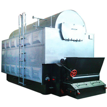 Biomass Fired Hot Water Boiler with PLC Control System