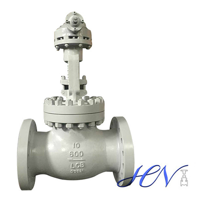 Low Temperature Carbon Steel Gear Operated Flanged Globe Valve