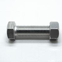 Stainless steel heavy hex head structural bolts with heavy hex nut