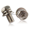 m8 stainless Steel metric sems bolts used on the automotive