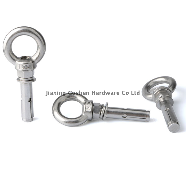 Stainless steel 304 eyelet anchor bolt