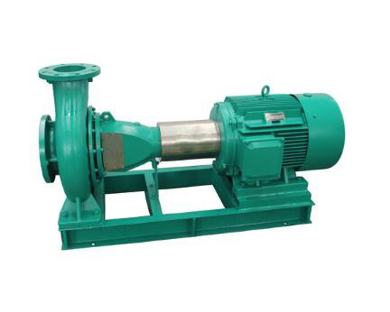 Horizontal standard end suction pump