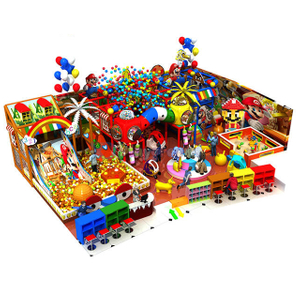 Customized Design Kids Soft Indoor Playground Equipment with Ball Pit