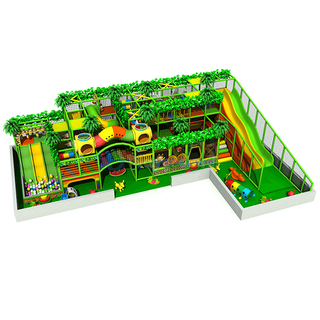 Jungle Theme 3 Storeys Commercial Indoor Playground for Kids