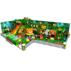 Jungle Themed Adventure Indoor Children Playground with Soft Play